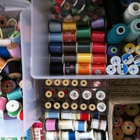 Photo taken at Jolt Sewing Headquarters by Jessica K. on 2/27/2012
