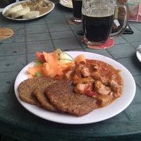 Photo taken at Restaurace Pod Hradem by Lubor M. on 7/22/2012