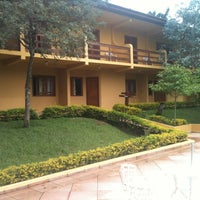 Photo taken at Hotel Fazenda Saint Nicolas by Ronaldo V. on 5/12/2012