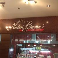Photo taken at Nota Bene Patisserie by Uluk K. on 3/30/2012