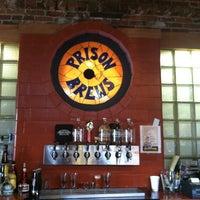 Photo taken at Prison Brews Brewery & Restaurant by Burt L. on 9/6/2012