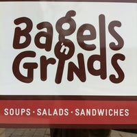 Photo taken at Bagels 'n Grinds by Stu L. on 5/30/2012