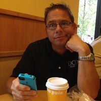 Photo taken at Au Bon Pain by David D. on 7/19/2012