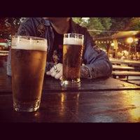 Photo taken at Zahrádky a restaurace Riegrovy sady – Park Café by t_kaif on 6/3/2012