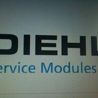 Photo taken at Diehl Service Modules Gmbh by Daniel S. on 6/12/2012