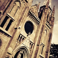 Photo taken at Gereja Katolik Katedral Jakarta by Greene H. on 4/8/2012