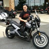Photo taken at Northwest Harley-Davidson by Lyn Y. on 7/10/2012