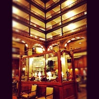 Photo taken at The Brown Palace Hotel and Spa by Stacie V. on 3/16/2012