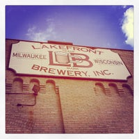 Photo taken at Lakefront Brewery by Jess N. on 6/22/2012
