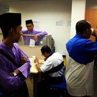 Photo taken at Bank Rakyat Caw. K.Terengganu by Mohd Radzman i. on 9/11/2012