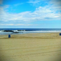 Photo taken at Belmar Beach by Jay G. on 6/15/2012
