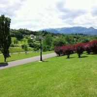 Photo taken at Parque de Invierno by Rodrigo Á. on 6/7/2012