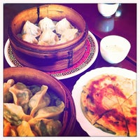 Photo taken at Mother's Dumplings by Roland G. on 10/23/2011