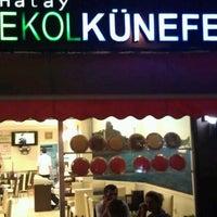 9/18/2011 tarihinde Mehmet A.ziyaretçi tarafından Ekol Künefe'de çekilen fotoğraf
