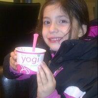 Photo taken at Yogi Frozen Yogurt by Josh L. on 12/6/2011