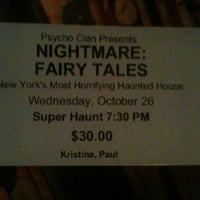 Photo taken at NIGHTMARE: Fairy Tales by Oleksii I. on 10/26/2011