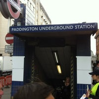 Photo taken at Paddington London Underground Station (District, Circle and Bakerloo lines) by Ulf S. on 7/23/2012