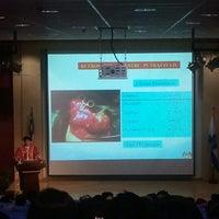 Photo taken at MAHSA Auditorium by Ikin I. on 3/8/2012