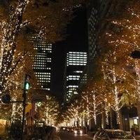 Photo taken at 丸の内仲通り by Sawa M. on 11/29/2011