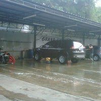Photo taken at Grand galaxy car wash by Febry G. on 6/1/2012