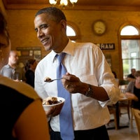Photo taken at The Dairy Bar by The White House on 7/20/2012