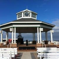Photo taken at Rehoboth Beach Bandstand by Gar G. on 6/17/2012