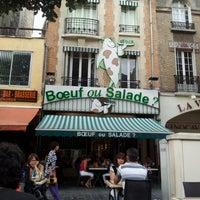 Boeuf ou Salade 41 place Drouet d Erlon