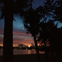 Photo taken at Ypao Beach Park by Steph W. on 9/7/2012