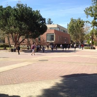 Photo taken at UCLA Bruin Plaza by Laura B. on 2/22/2012