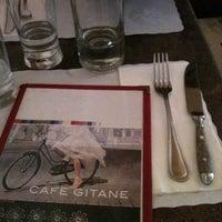 Photo taken at Café Gitane by Ellen S. on 9/30/2011