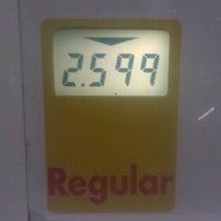 Photo taken at Shell by Jennifer L. on 1/16/2012
