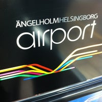 Photo taken at Ängelholm-Helsingborg Airport (AGH) by Magnus J. on 3/25/2012