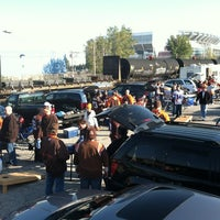 Photo taken at Metro Parking Systems Lot (The Pit) by Jeff B. on 10/23/2011
