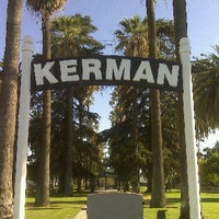 Photo taken at Kerman Plaza Veterans Park by Kevin N. on 7/9/2011