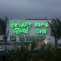 Photo taken at De Lazy Lizard Bar & Grill by Tina B. on 7/21/2012