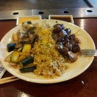 Photo taken at Sakura Japanese Steak, Seafood House & Sushi Bar by Kirill S. on 5/1/2012