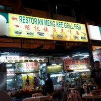Photo taken at Meng Kee Grill Fish by Rick Lee on 11/26/2011