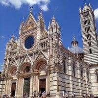 Photo taken at Duomo di Siena by Michel on 5/24/2012