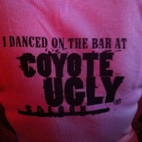 Photo taken at Coyote Ugly Saloon - Panama City Beach by Shelby H. on 8/26/2011