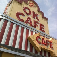 Photo taken at OK Cafe by Brian R. on 5/26/2011