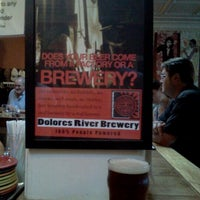Photo taken at Dolores River Brewery by Konstantinos K. on 8/4/2011