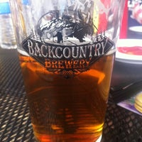 Photo taken at Backcountry Brewery by Bridget J. on 7/31/2011