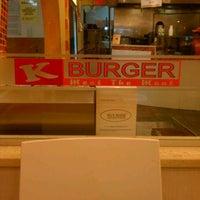 Photo taken at K Burger by Jeremy C. on 1/12/2012