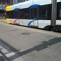Photo taken at Warehouse District/Hennepin Ave LRT Station by Timothy W. on 9/26/2011
