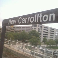 Photo taken at New Carrollton Metro Station by Natasha R. on 9/5/2011