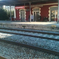 Photo taken at RENFE Les Franqueses del Vallès by Carolina R. on 12/7/2011
