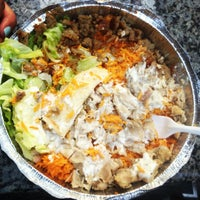 Photo taken at The Halal Guys by Carole R. on 8/30/2012