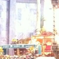 Photo taken at St John the Baptist Parish Church by jovilhyn S. on 10/16/2011