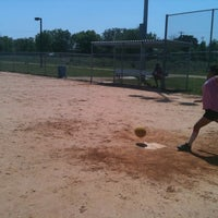 Photo taken at Kyle Kickball Fields by Sean C. on 4/1/2012