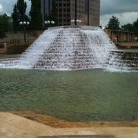 Photo taken at Kanawha Plaza by Gwen B. on 8/6/2011